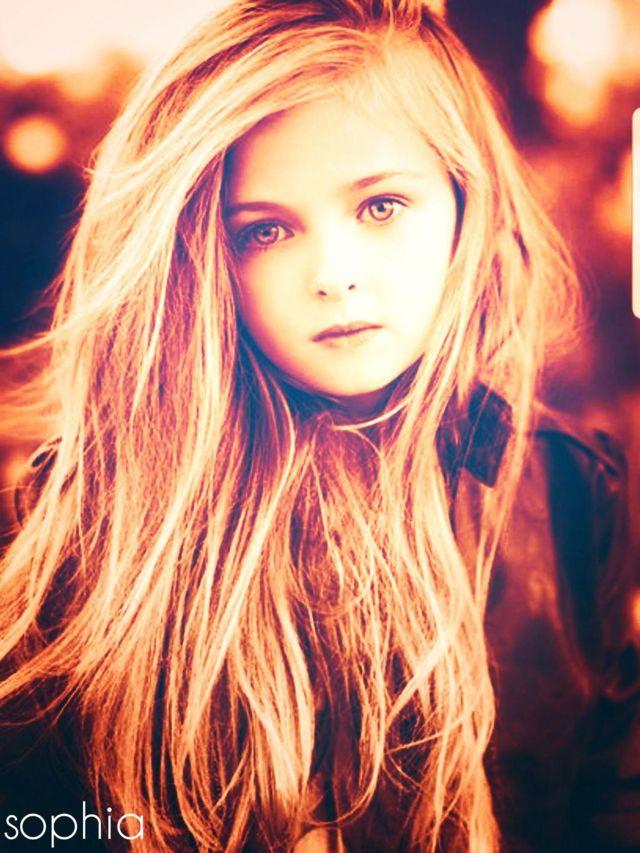 Little blond girl teen #2